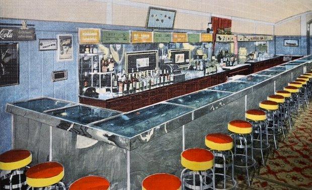Aquarium Bar postcard 18_0930b