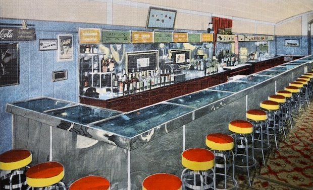 Aquarium Bar postcard 18_0930b