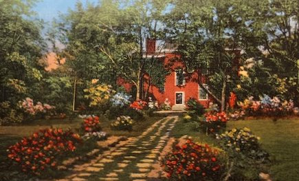 Postcard Stephen Collins Foster garden 20_0126 copy - Copy